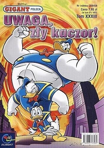 Okładka książki Gigant 8/2003: Uwaga, zły kaczor!