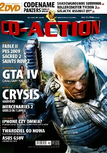 Okładka książki CD-Action 10/2008