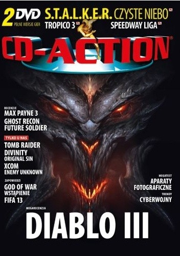 Okładka książki CD-Action 07/2012
