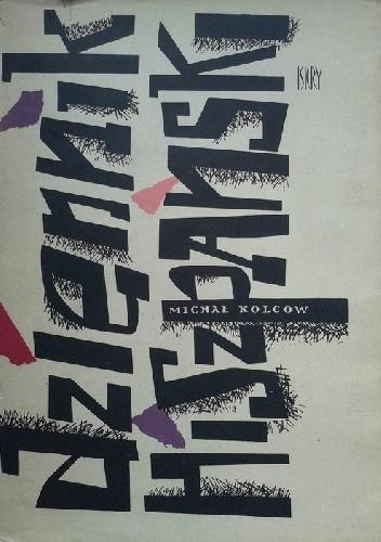 Okładka książki Dziennik hiszpański