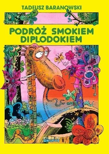 Okładka książki Podróż smokiem Diplodokiem