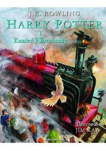 Okładka książki Harry Potter i Kamień Filozoficzny (wydanie ilustrowane)
