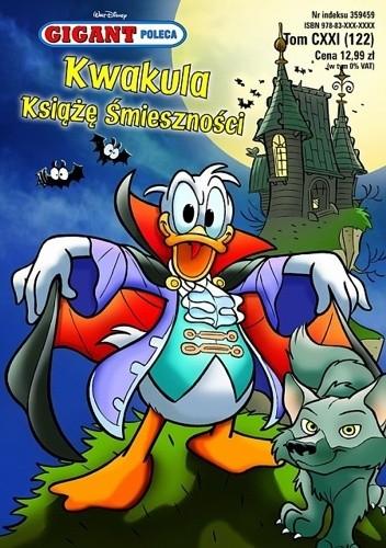 Okładka książki Gigant 10/2010: Kwakula Książę Śmieszności