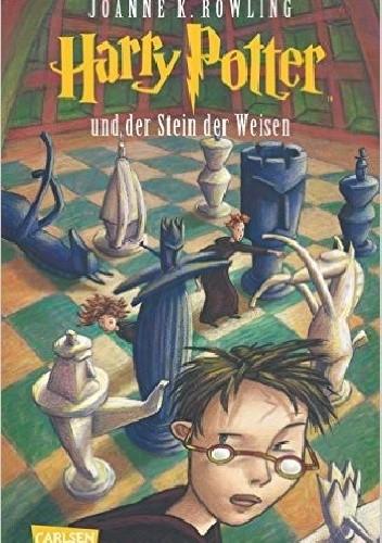Okładka książki Harry Potter und der Stein der Weisen