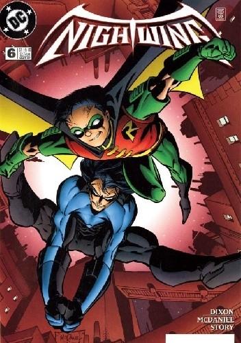 Okładka książki Nightwing. The Visitor