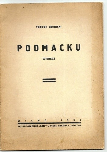 Okładka książki Po omacku