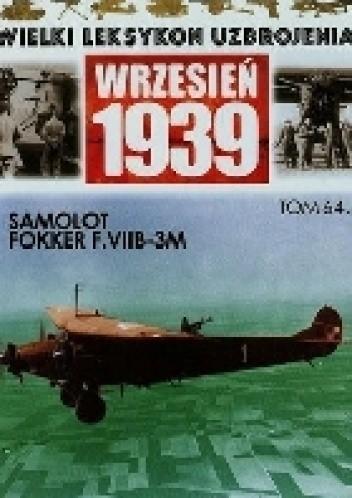 Okładka książki Samolot Fokker F.VIIB-3M