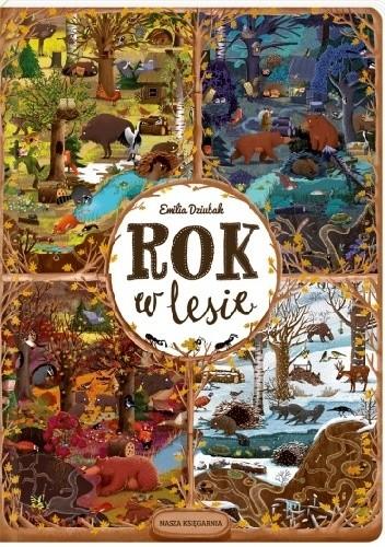 Okładka książki Rok w lesie