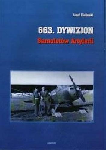 Okładka książki 663 Dywizjon Samolotów Artylerii