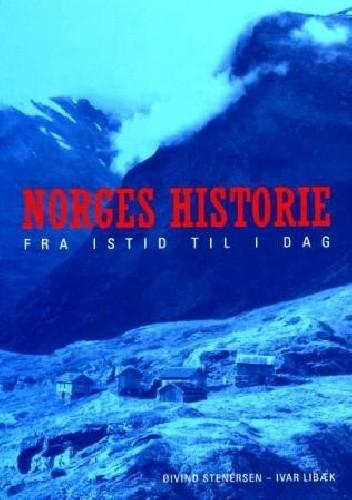 Okładka książki Norges historie – fra istid til i dag