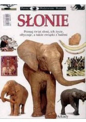 Okładka książki Słonie