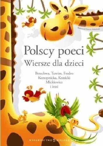 Okładka książki Polscy poeci. Wiersze dla dzieci