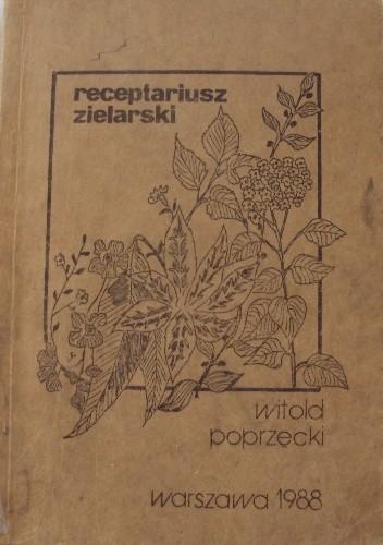 Okładka książki Receptariusz zielarski