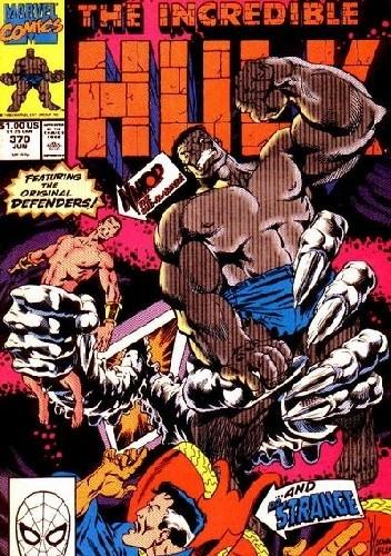 Okładka książki The Incredible Hulk #370