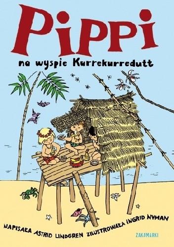 Okładka książki Pippi na wyspie Kurrekurredutt