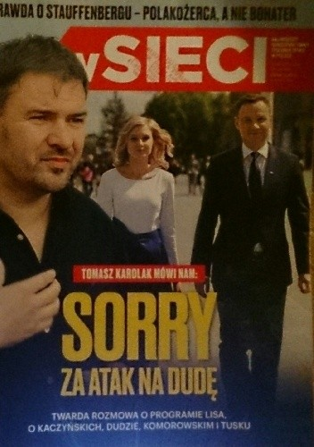 Okładka książki W sieci, nr 28/2015