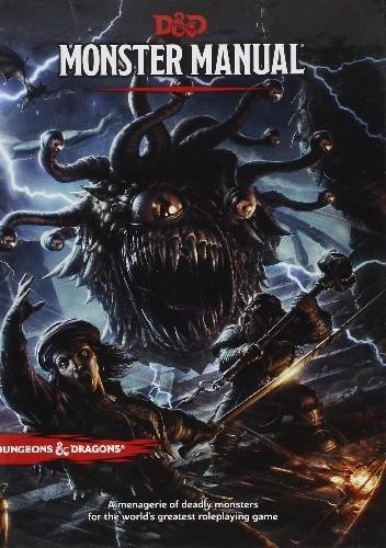 Okładka książki D&D Monster Manual