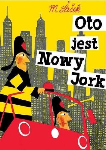 Okładka książki Oto jest Nowy Jork