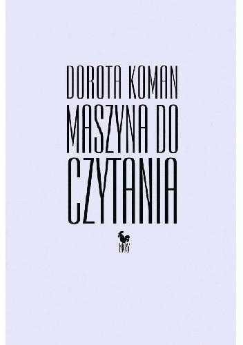 Okładka książki Maszyna do czytania