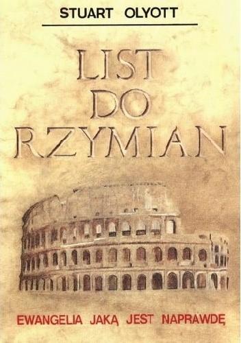 Okładka książki List do Rzymian - Ewangelia jaką jest naprawdę