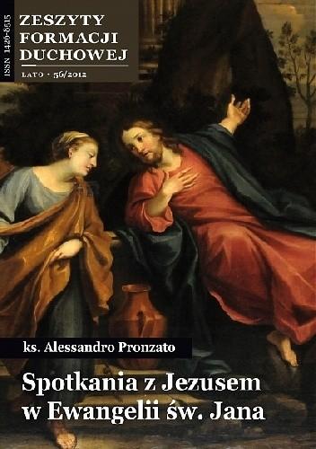 Okładka książki Spotkania z Jezusem w Ewangelii św. Jana