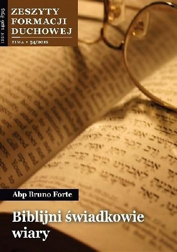 Okładka książki Biblijni świadkowie wiary