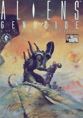 Okładka książki Aliens: Genocide #2
