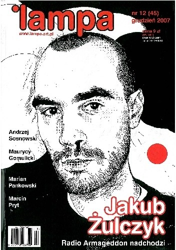 Okładka książki Lampa, nr 12 (45) / grudzień 2007