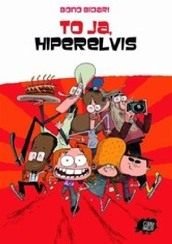 Okładka książki To ja, Hiperelvis