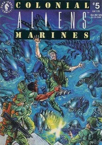 Okładka książki Aliens: Colonial Marines #5