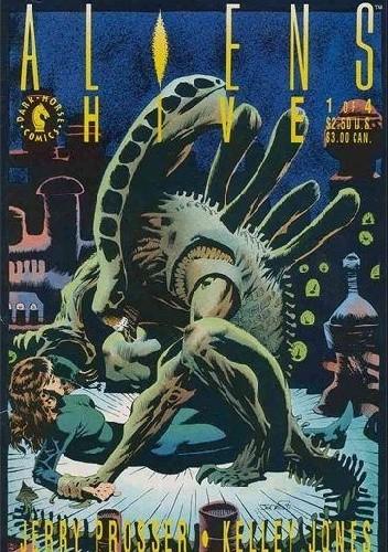 Okładka książki Aliens: Hive #1