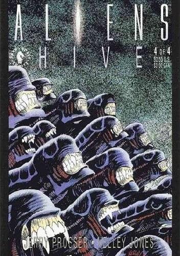 Okładka książki Aliens: Hive #4