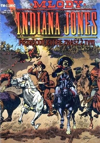 Okładka książki Młody Indiana Jones 1/93