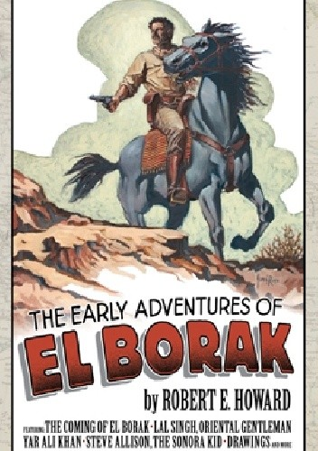 Okładka książki The Early Adventures of El Borak