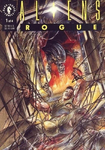 Okładka książki Aliens: Rogue #1
