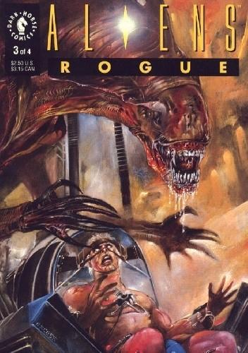 Okładka książki Aliens: Rogue #3