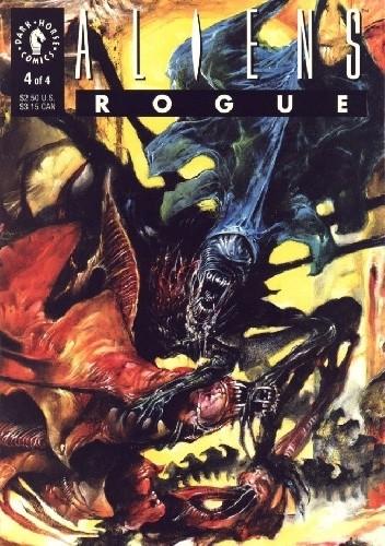 Okładka książki Aliens: Rogue #4