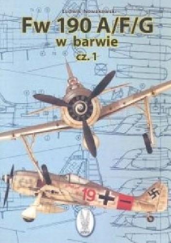 Okładka książki Fw-190 AFG w barwie cz.1