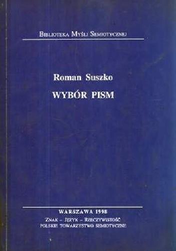 Okładka książki Wybór pism. Roman Suszko