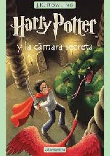 Okładka książki Harry Potter y la cámara secreta