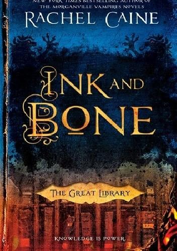 Okładka książki Ink and Bone