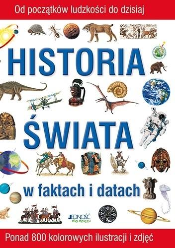 Okładka książki Historia świata w faktach i datach
