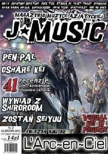 Okładka książki J-MUSIC. Magazyn o muzyce azjatyckiej nr 2 03.2012/05.2012