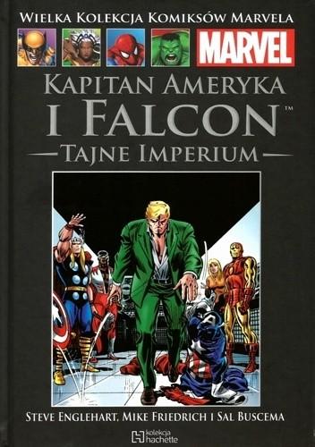 Okładka książki Kapitan Ameryka i Falcon: Tajne Imperium