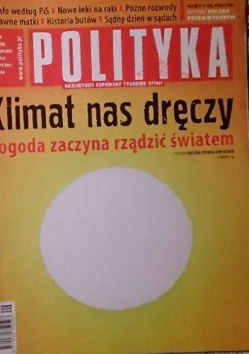 Okładka książki Polityka, nr 29/2015