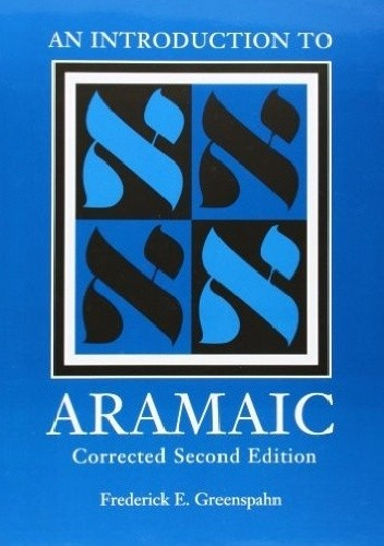 Okładka książki An Introduction to Aramaic