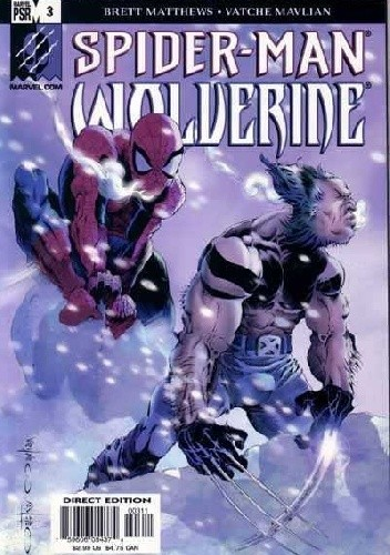 Okładka książki Marvel Knights: Spider-Man & Wolverine #3