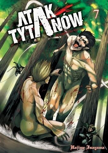 Okładka książki Atak Tytanów tom 7