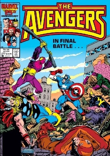 Okładka książki Avengers #277