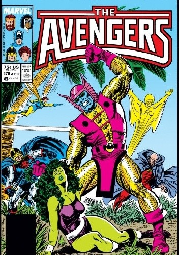 Okładka książki Avengers #278